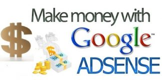 google adsense money making program