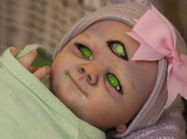 zombie doll three eyes