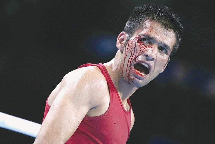 muhammad waseem boxer in fight