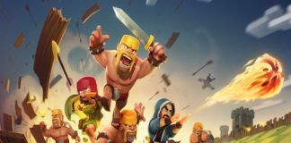 clash of clans war scene