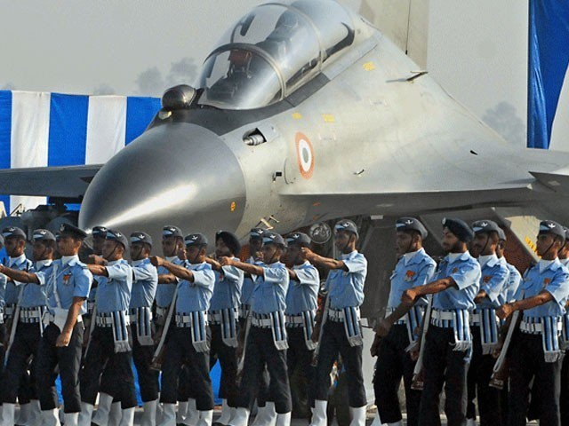 indian force parade