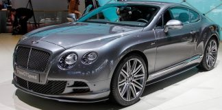 bentley continental 2015 gt
