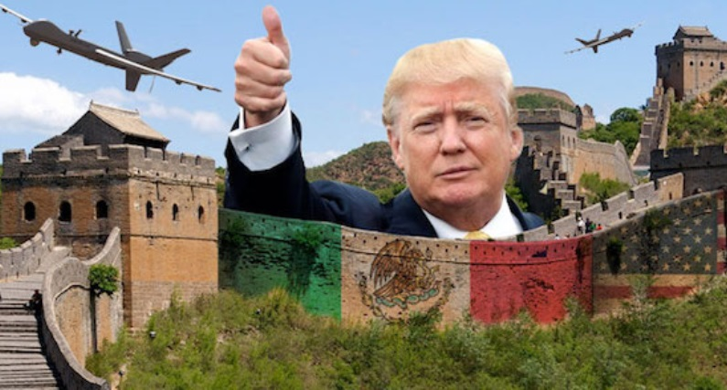 trump on mexico great wall