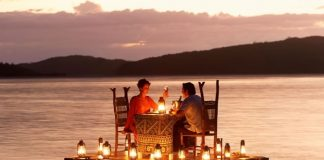 amazing romantic place