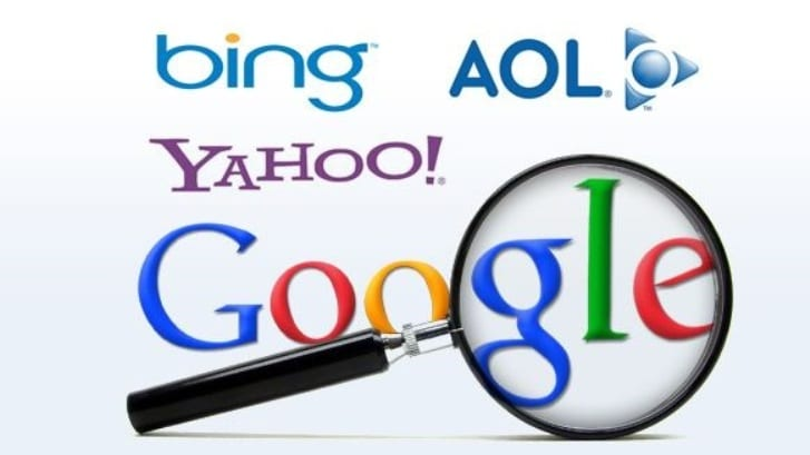 search engine names