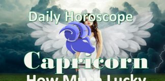 capricorn luck horoscope and lucky numbers