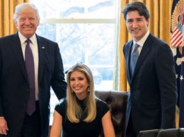 ivanka with father in white house