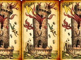 tower today tarot