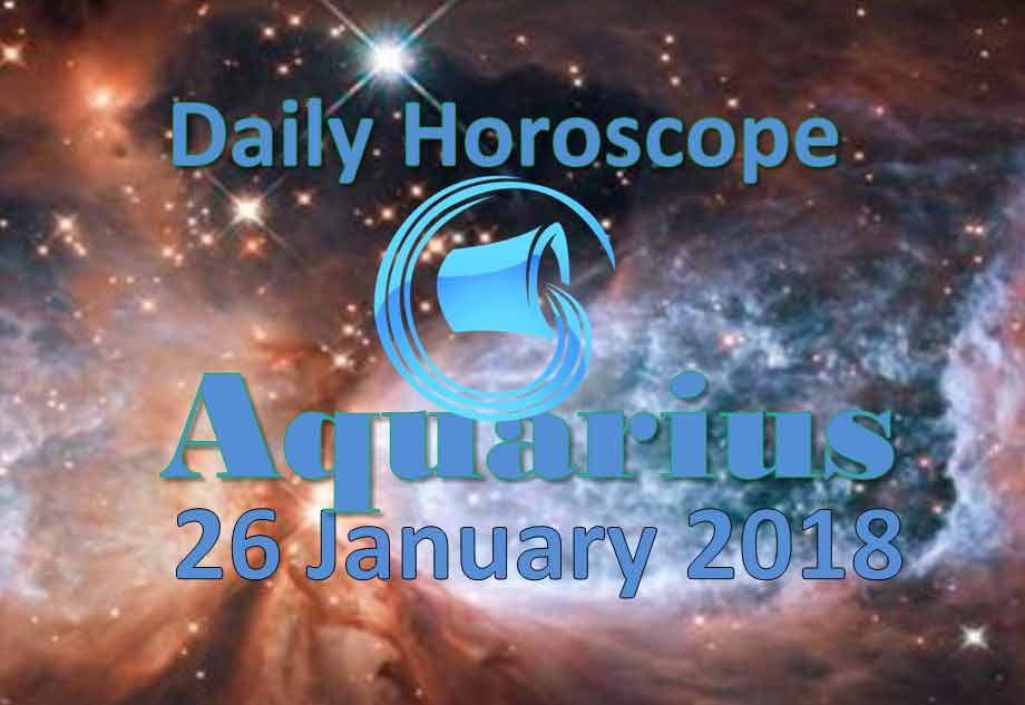 26 january horoscope for today