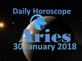 aries daily horoscope tuesday 30th january 2018