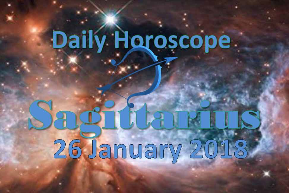 horoscope sagittarius 26 january