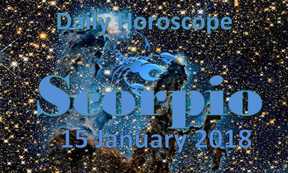 scorpio weekly horoscope january 15