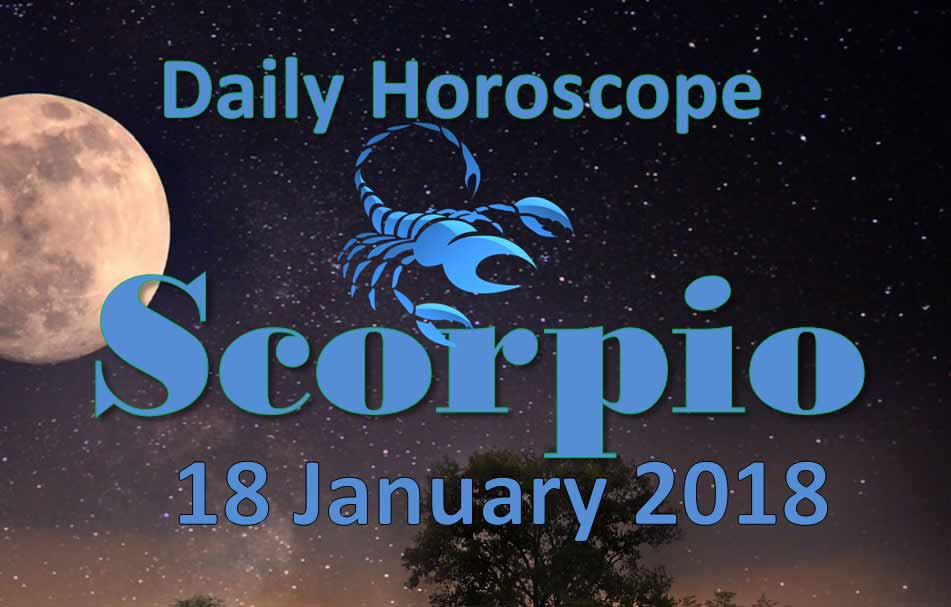 scorpio january 18 weekly horoscope
