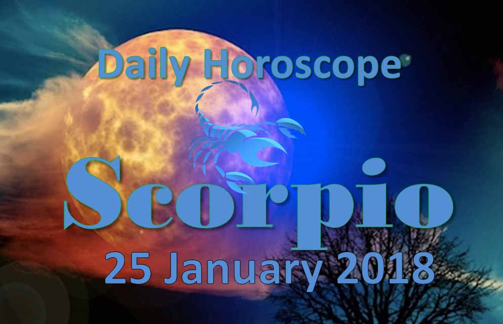 25 january horoscope scorpio or scorpio