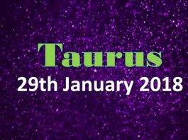 taurus horoscope in urdu 29th january 2018