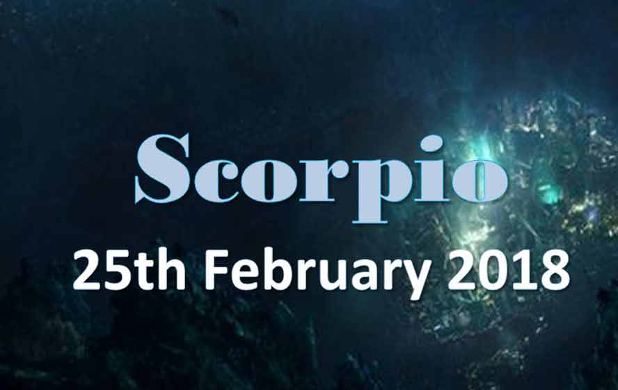 february 25 scorpio daily horoscope