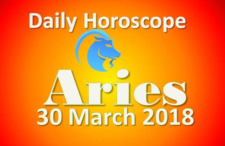 aries daily horoscope friday 30th march 2018
