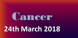 cancer horoscope in urdu today 24 march 2018