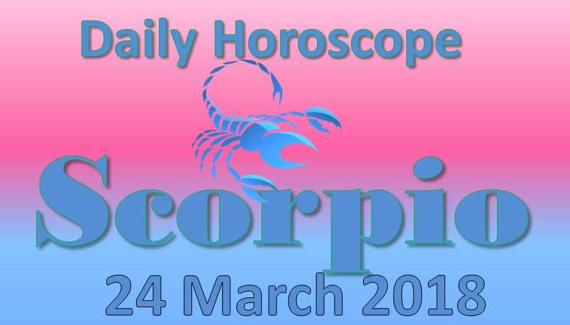 horoscope scorpio 24 march