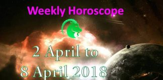 aries weekly horoscope 2nd april to 8th april 2018