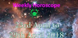 cancer weekly horoscope 23rd to 29th april 2018
