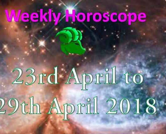 capricorn weekly horoscope 23rd to 29th april 2018