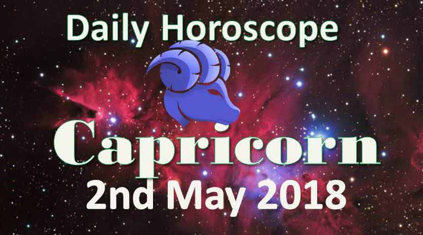 capricorn daily horoscope wednesday 2nd may 2018