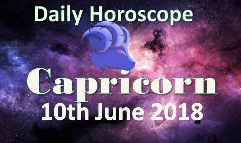 capricorn daily horoscope sunday 10th june 2018