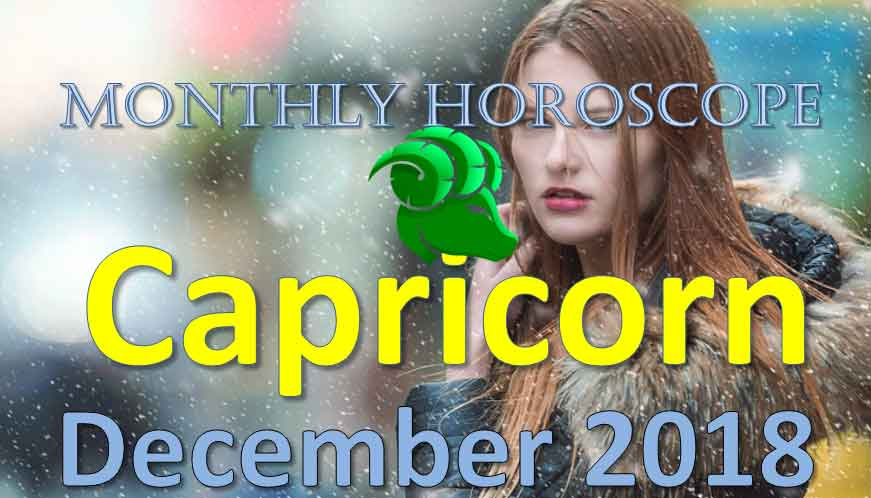 Capricorn in December 2018 | Your Monthly Love, Money, Luck