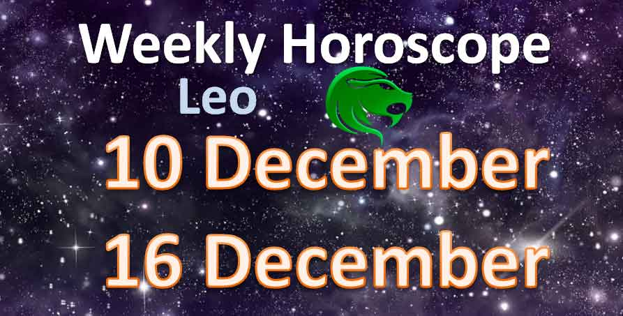 horoscope leo 10 december