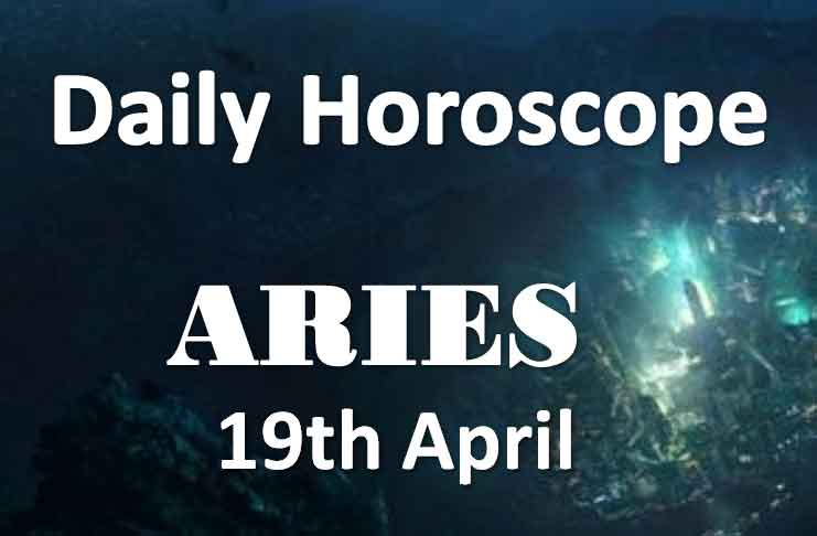 aries daily horoscope today friday 19th april 2019