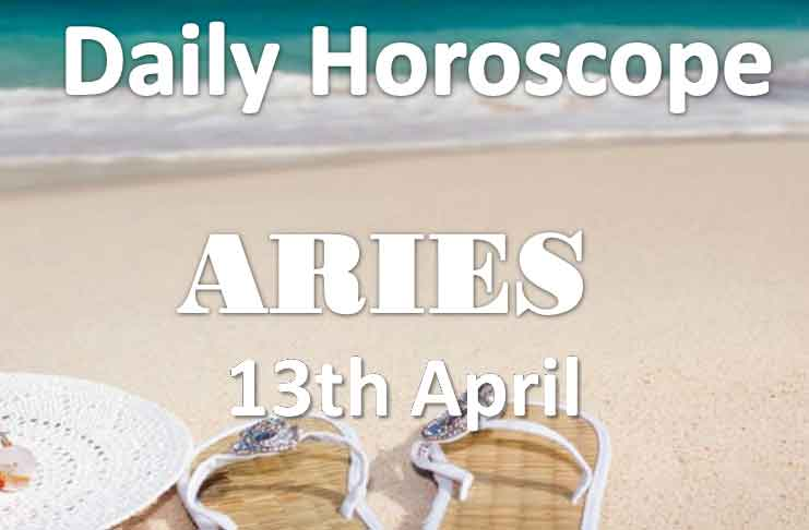 aries daily horoscope today saturday 13th april 2019