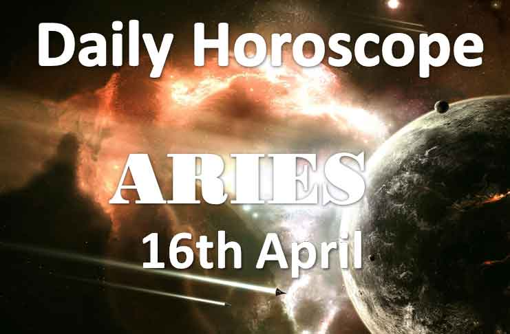 aries daily horoscope today tuesday 16th april 2019
