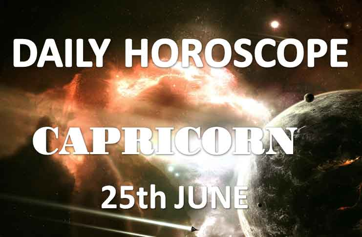 capricorn daily horoscope today tuesday 25th june 2019