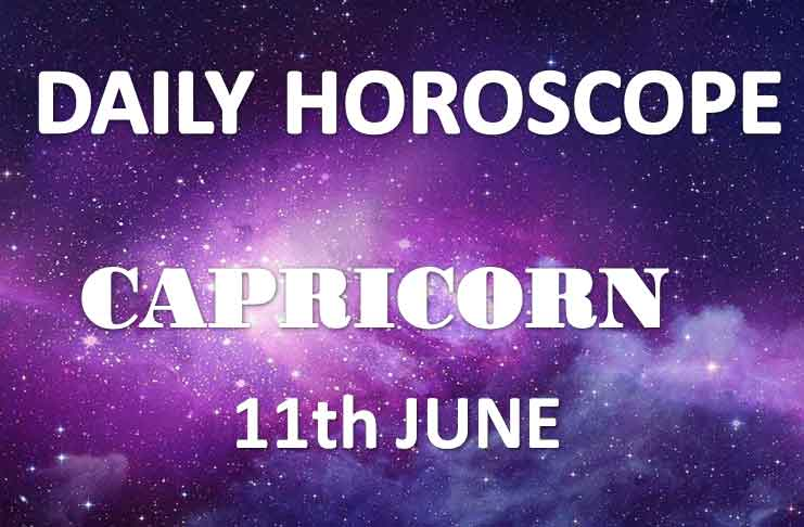 horoscope capricorn 11 june 2019