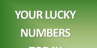 luck numbers for today