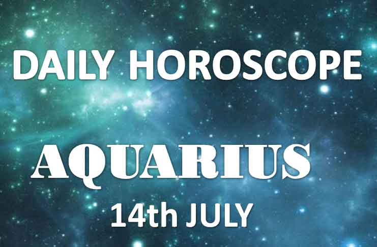 aquarius daily horoscope today sunday 14th july 2019