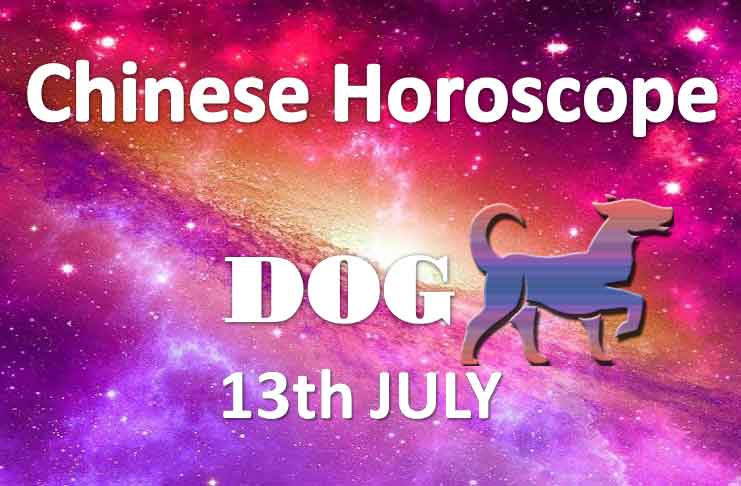 daily chinese dog horoscope 13th july 2019