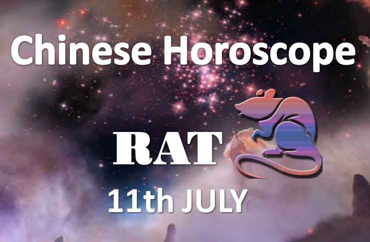 daily chinese rat horoscope 11th july 2019