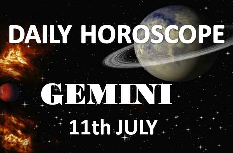 gemini daily horoscope today thursday 11th july 2019