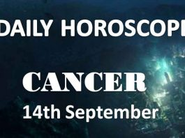 cancer daily horoscope today 14th september 2019