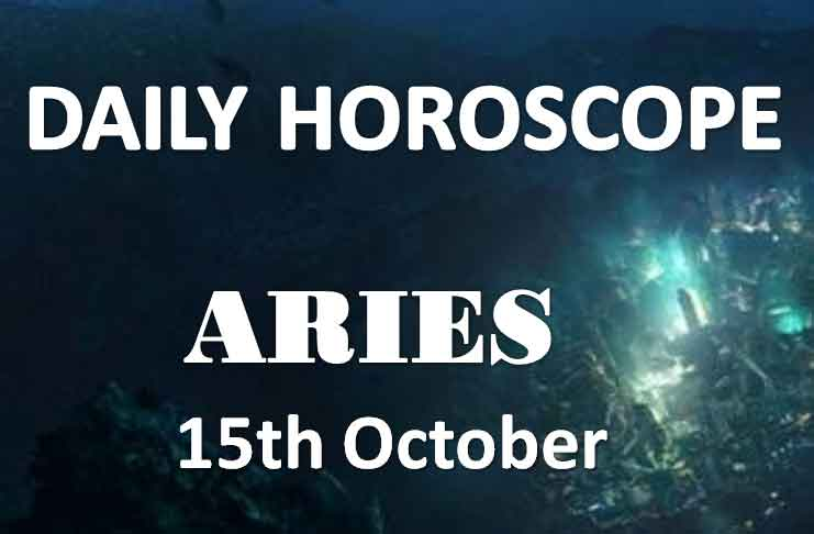 aries daily horoscope 15th october 2019