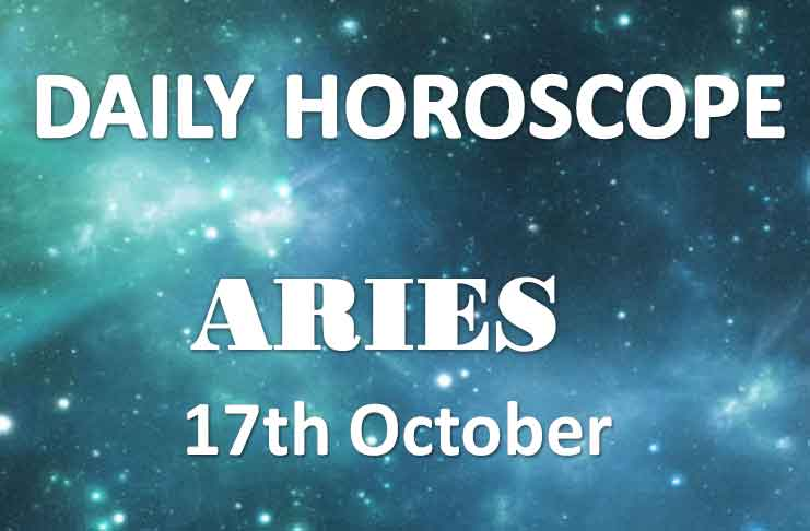 aries daily horoscope 17th october 2019