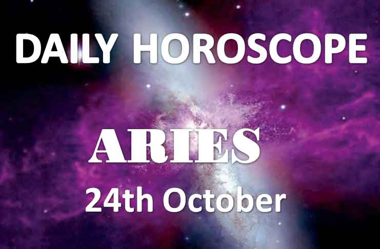 aries daily horoscope 24th october 2019