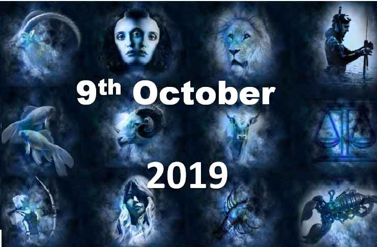 horoscope 9th october 2019