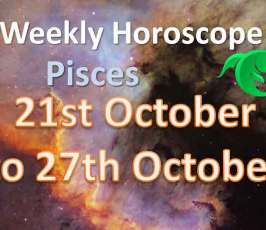 pisces weekly horoscope october 21 to 27 2019