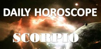 scorpio daily horoscope 1st november 2019