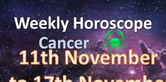 cancer weekly horoscope 11th to 17th november 2019