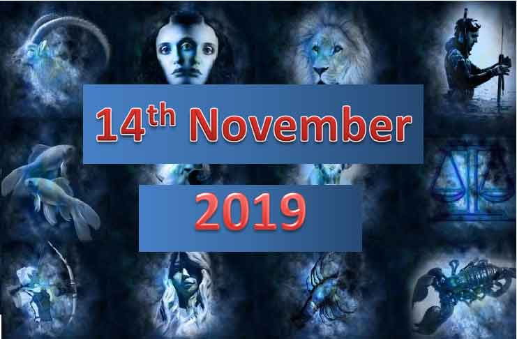 daily horoscope today 14th November 2019