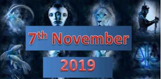 daily horoscope today 7th November 2019